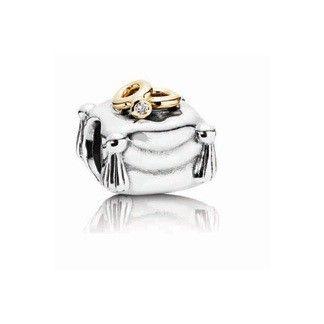 Pandora Romantic Union Charm with Diamond (UM9996)