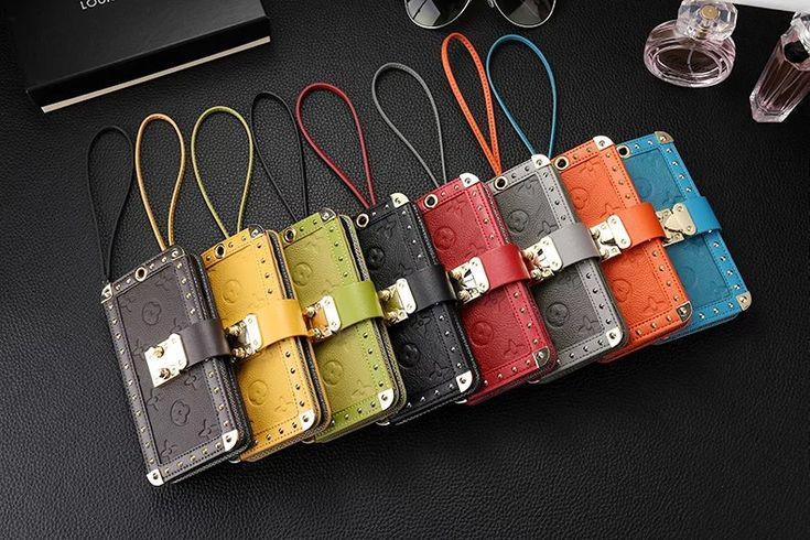 ルイヴィトン iPhone7ケース トランク型 バッグ チェーン LOUIS VUITTON iPhone7plusケース 本革レザー モノグラム柄 LV iPhone6sカバー リベット付き
