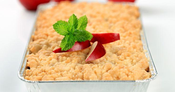 A fahéjas, almás morzsasüti az egyik leggyorsabban összeállítható desszert.