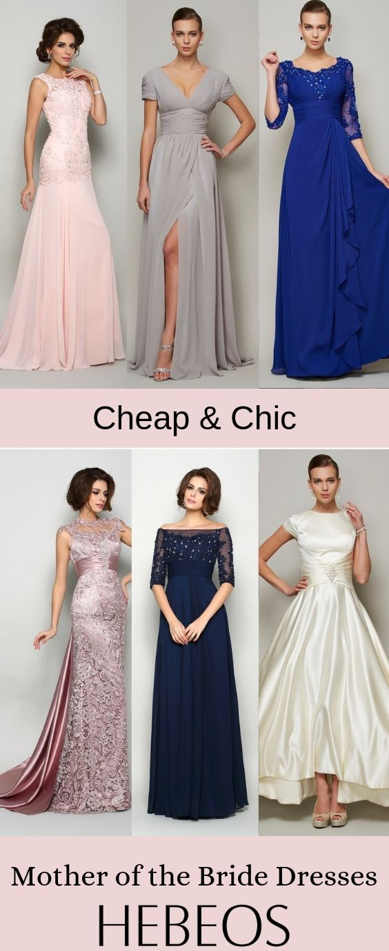 7927f3c159 Cheap Mother of the Bride Dresses on Sale! Choose your perfect look at   hebeos