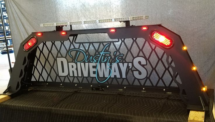 One of the #coolest racks we've made so far! Another #great customer! Check him out if you need #driveway work in #Maryland ! Call us at 1-501-206-8079 or email us at sales@darkthreatfab.com  ⬇⬇⬇⬇⬇⬇⬇⬇⬇⬇⬇ WWW.DARKTHREATFAB.COM #love #headacherack #steps #grille #bumper  #bigtruck #bigrig #ram #steps #dodge #ford #f150 #f250 #f350 #chevy #cummins #duramax #sema #sema2017 #exhaust #lifted #exhauststacks #stacks #dumptruck #darkthreatfab #led #flash