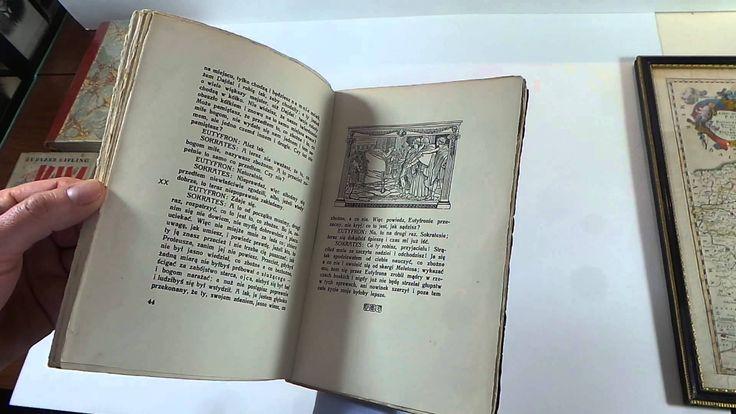 Platon - Obrona Sokratesa. Wydanie z 1923 roku