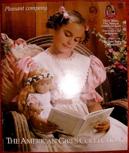 Aww! So Cute    Pleasant Company American Girl 1994 Spring Catalogue Kirsten