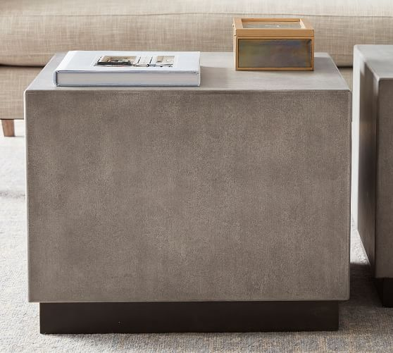 Byron Bunching Coffee Table Gray Furniture Coffee Tables