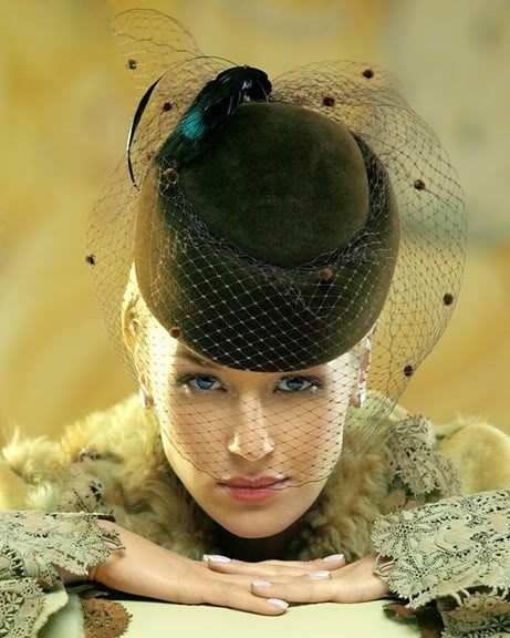 ♥: Hats, Nice Hats, Accessories Head, Fashion Style, Veils, Hats Style, Mad Hatters, Posts, Fancy Hats