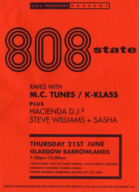 808 State I will see you shortly!