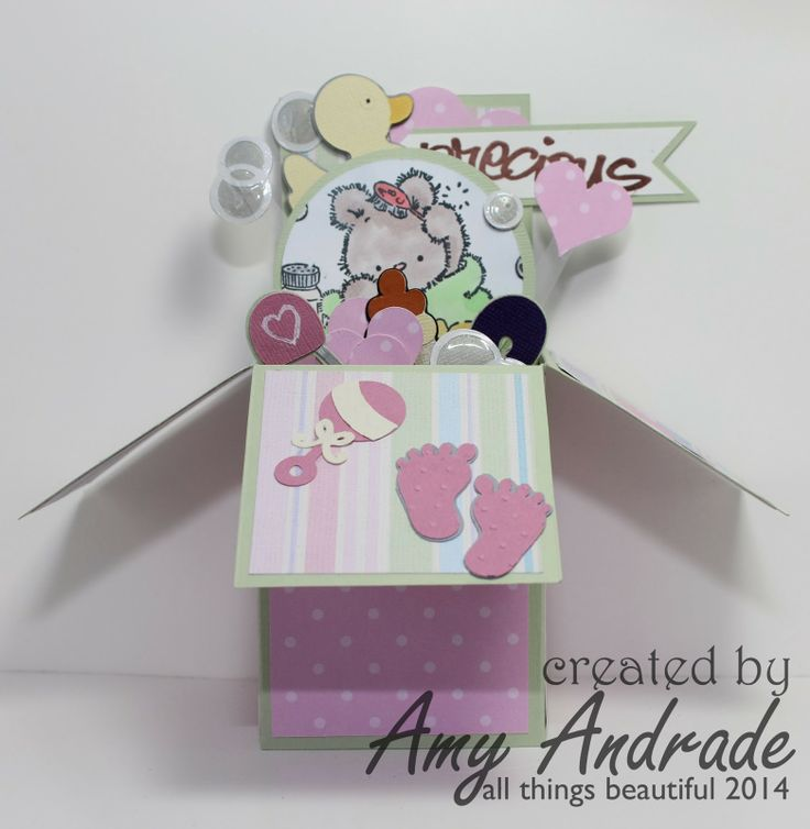 all things beautiful: Using My Tools Thursday-Baby Box Cards