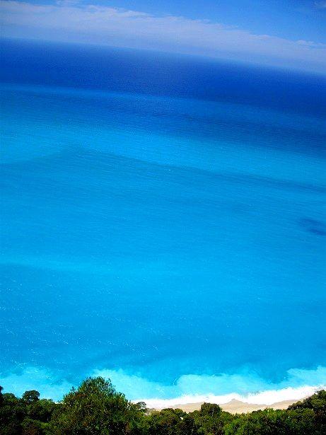 Breathtaking view. Lefkada, Greece
