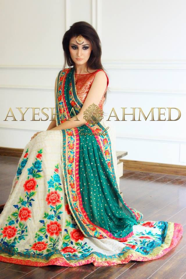 5 Ayesha Ahmed formal wear collection 2015 For Girls (9)