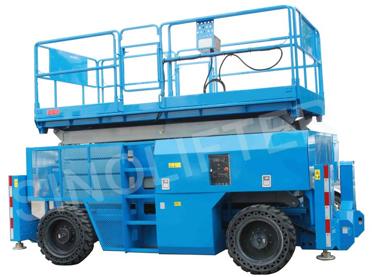 16m mobile elevated work platform, with powerful grade ability, 4-wheel driven, 4-wheel steering. Used for maintain, cleaning and installation. (http://www.sinolifter.com/self-propelled-sci44or-lift/16m-mobile-elevated-work-platform.html)