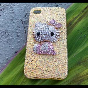 iPhone 4/4S case - 3D hello kitty. Price: $25 Size: iPhone 4/4S  https://poshmark.com/closet/mfbeauty