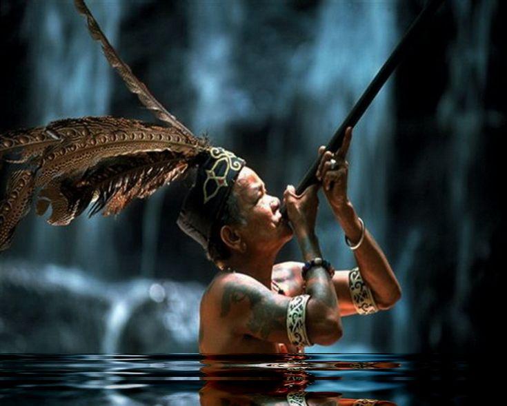 the native Dayak people of Borneo, Sarawak  Malastrana Vienna - Bali your turnkey  Phinisi Interior Design Company