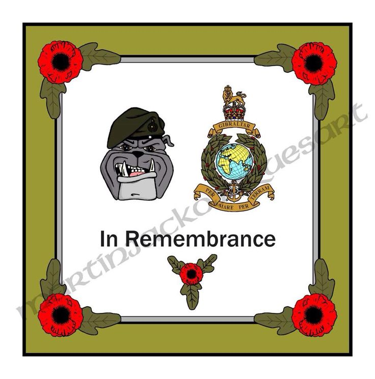 A toon added to a Remembrance Wreath Card design I created