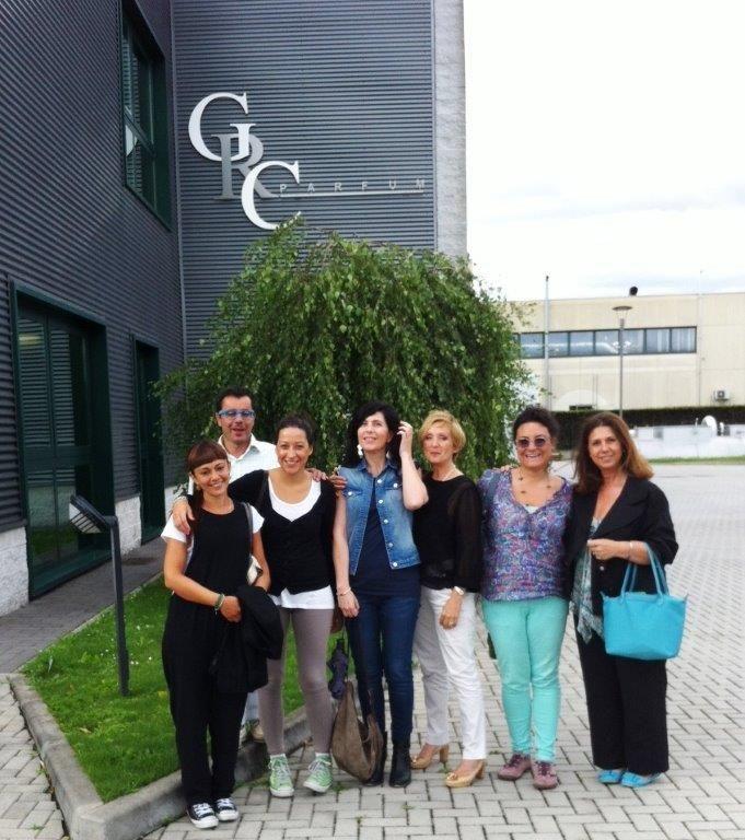 Week 1 Day 2 - visita a GRC Parfum-Italian Fragrance Experience