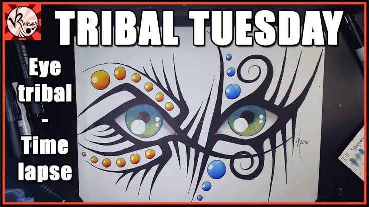 TRIBAL TUESDAY - Eye tribal - TIME LAPSE