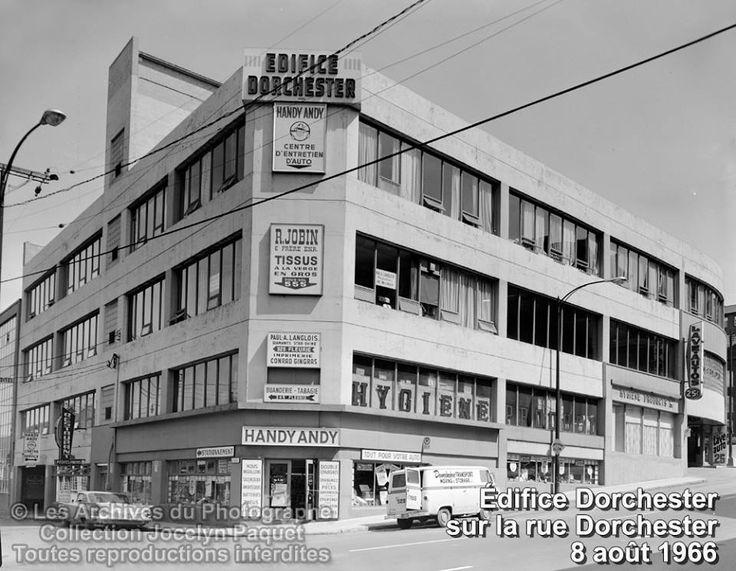 Québec 1960 Edifice Dorchester