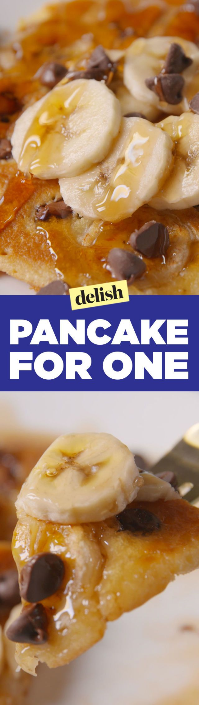 Finally, A Pancake Recipe That Makes Just Enough For One Person - Delish.com