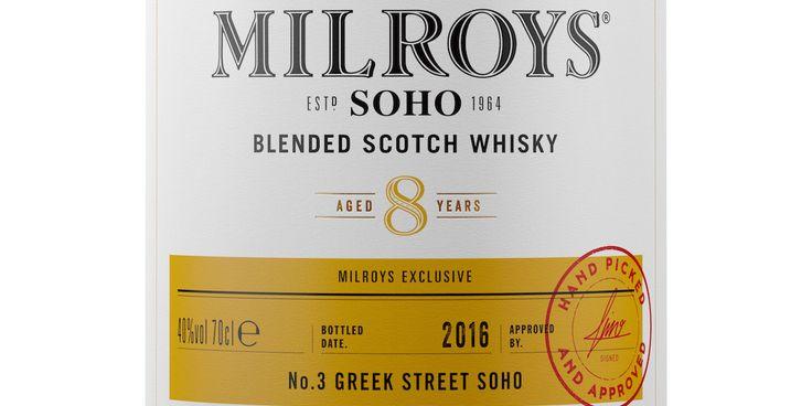 Milroys of Soho Whiskey — The Dieline   Packaging & Branding Design & Innovation News