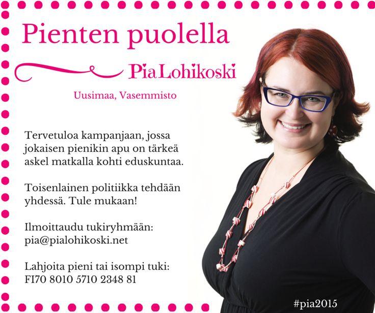 Tule mukan:http://pialohikoski.net/?page_id=3946 #vasemmisto