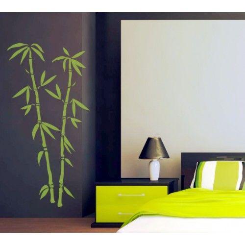Стикери за стена | Спалня | Бамбук 03, Две клонки