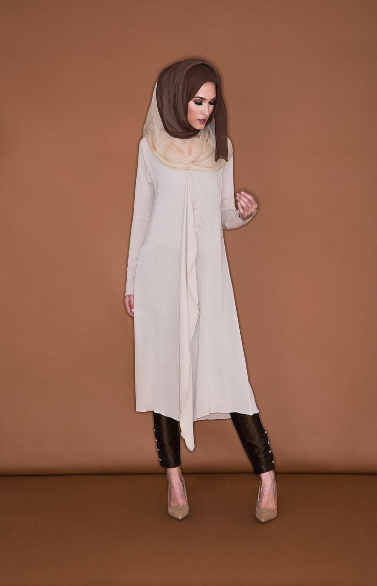 Waterfall Midi Dress | Aab