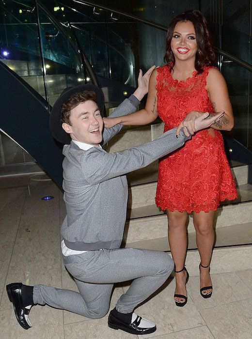 Jake Roche and Little Mix's Jesy Nelson...