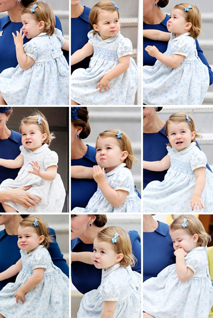 Princess Charlotte arrive at the Victoria Airport in Victoria, Canada. September 24, 2016.