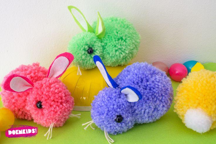 Konijntjes of haasjes? Al eerder maakten we hele schattige lentekuikentjes. Heb je die blog gemist? Kijk dan even hier. Nu we langzaam dichter bij Pasen komen maken we ook nog paaskonijntjes. Of zu…