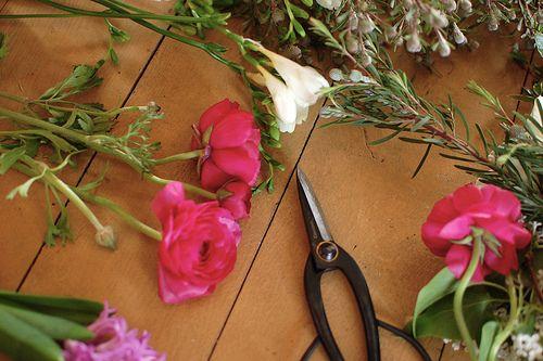 flower arranging tips!