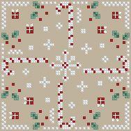 The Floss Box | Biscornu 591