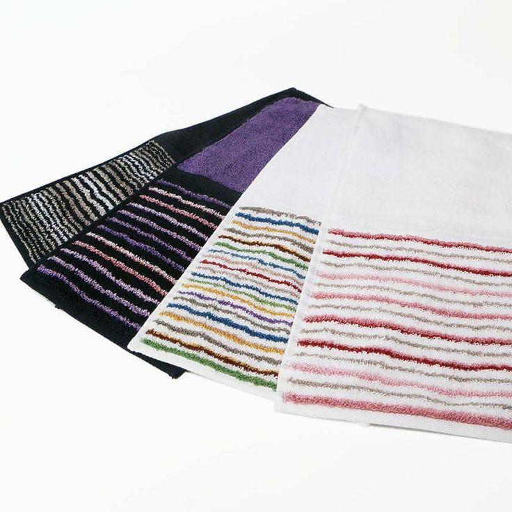 『縞縞SHIMA-SHIMA(小倉織)』タオルハンカチ