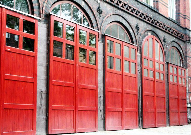 brama wyjazdowa Państwowej Straży Pożarnej w Bytomiu