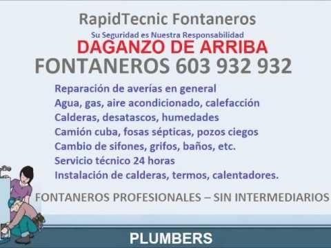 Fontaneros Daganzo De Arriba 603 932 932