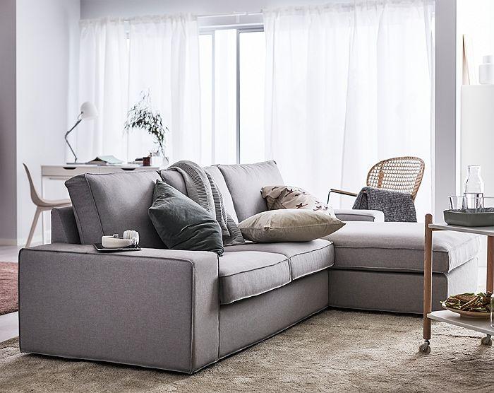 Grey Couch Blue Cushions In 2020 Mit Bildern Einrichtungsstil Hausmobel Ikea Zuhause