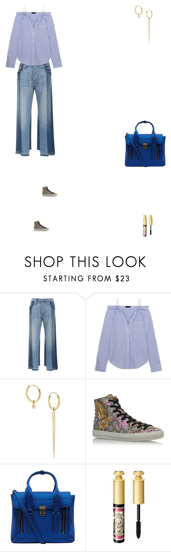 """""""Grace"""" by zoechengrace ❤ liked on Polyvore featuring Frame, Theory, Wouters & Hendrix Gold, Gucci and 3.1 Phillip Lim"""