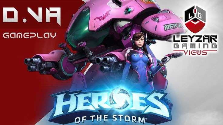 Heroes of the Storm (Gameplay) - D.VA First Impressions (HotS DVA Gamepl...