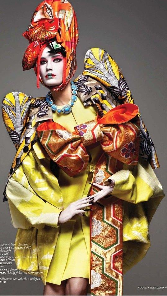 Vogue Netherlands March 2013 - Fashion Mavericks   cynthia reccord