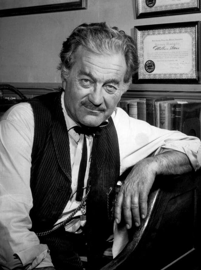 Milburn Stone (actor) - Died June 12, 1980. Born July 5, 1904. American film and…