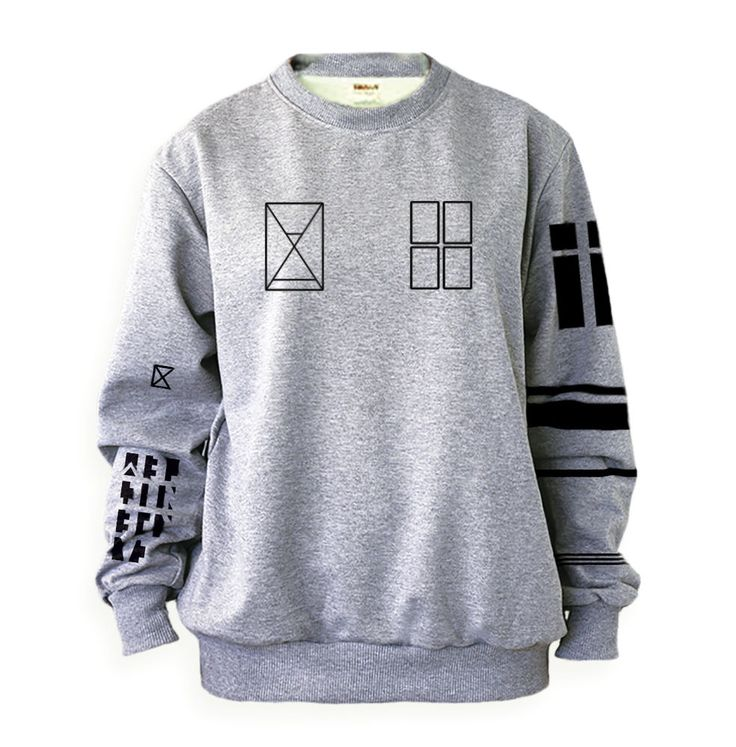 Tyler Joseph Twenty One Pilots Tattoos Sweatshirt Sweater Crew Neck Grey Shirt  #noonew #FashionSweatshirt