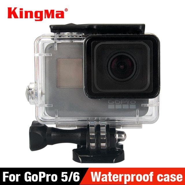 Kingma 40 Underwater Waterproof Case For Gopro Hero 7 6 5 Black Go Pro Hero 6 Diving Housing Mount For Gopro Hero 6 Accessory Review Water Proof Case Gopro Case