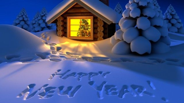 Happy New Year 2014 Wallpaper Themes PC