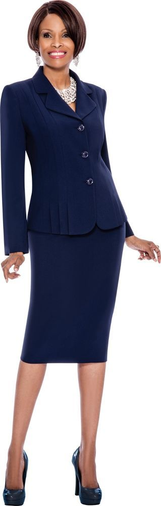 7468 TERRAMINA POLYESTER KNEE LENGTH SUIT ON SALE FROM $119 TO $99.00 #SkirtSuit