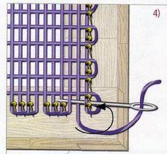 Entre Mates y Lazadas: Poncho tejido en telar manual colombiano