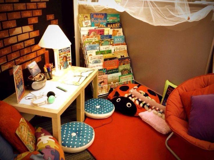 Reading area EYFS