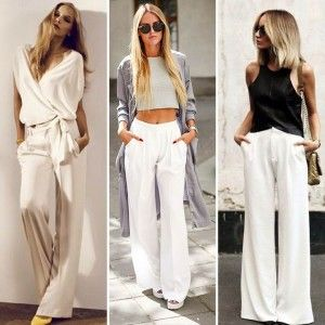 Spring Fashion: How to Wear White Pants