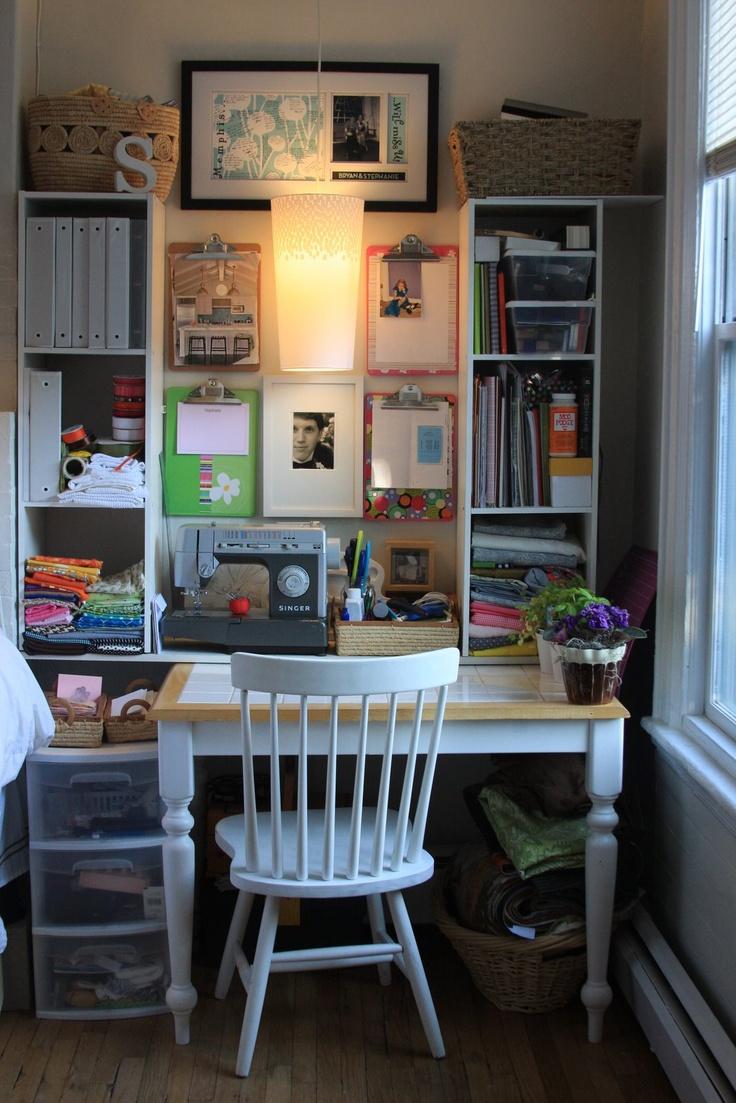 124 best craft/office nook images on pinterest | crafts, storage