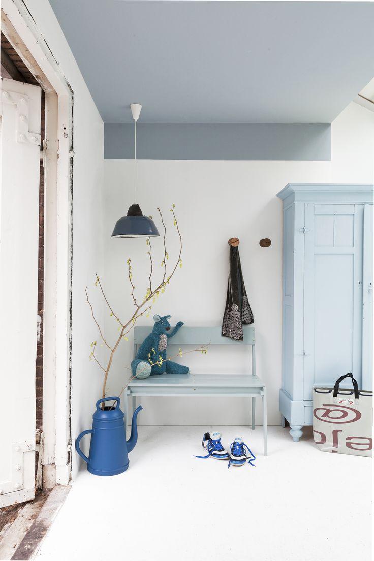 meubels verven inspiratie grijs blauw - Google zoeken