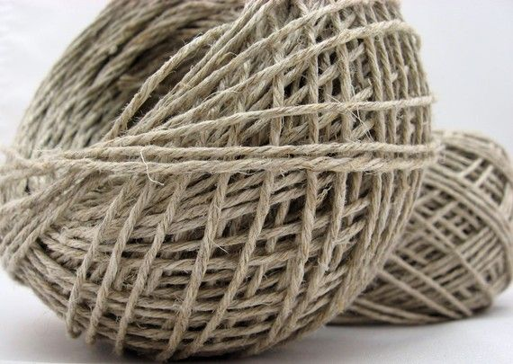 Did you know? Hemp does not require the use of pesticides or herbicides to grow.   Hemp Yarn DK Hemp for Crocheting Eco by ThoughtfulGemsCrafts