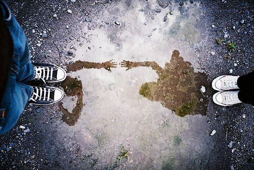 Lomo LC-A puddle reflection by Nicholas Hendrickx (ukaaa)