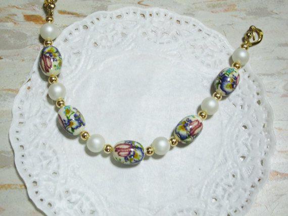 Japanese Violet bracelet.